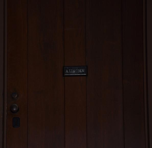 Lincoln's front door